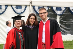 Master's Degree Graduation, University of Toronto, Professor Catherine Moore & Professor Eliot Britton